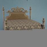 俄罗斯现代家具10-双人床模型