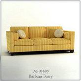 俄罗斯现代家具-布艺沙发模型