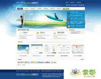 DedeCMS网络服务 企业网站模板