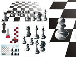 国际象棋棋盘矢量图