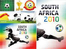 2010南非世界杯主题矢量图