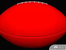 橄榄球PPT模板