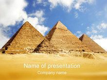 埃及金字塔PPT模板