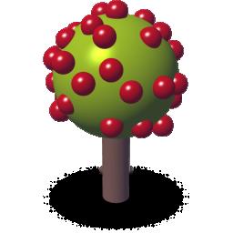 3D苹果树
