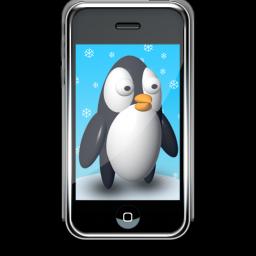 企鹅Iphone手机壁纸