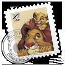 LionKing stamp 狮子王