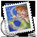 Peter Pan Stamp 小飞侠