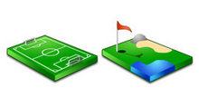 3D体育运动场PNG图标