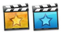 彩色电影场记板PNG图标