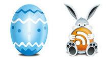 兔子bunny和彩蛋PNG图标