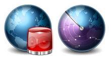 蓝色地球电脑桌面PNG图标
