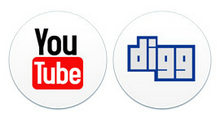 圆形风格网页设计logoPNG图标
