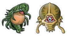 16个各种各样的怪物PNG图标