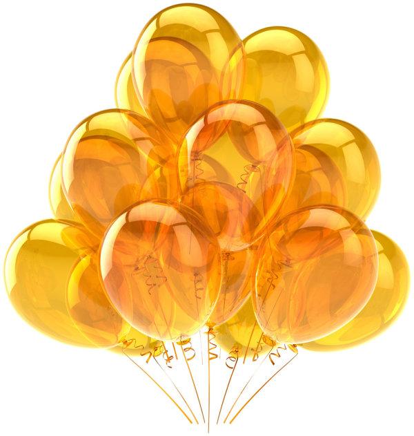五颜六色的气球高清图片5