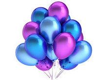 五颜六色的气球高清图片1