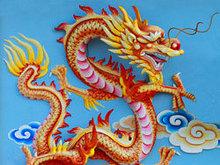 中国龙雕塑高清图片4