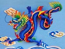 中国龙雕塑高清图片3