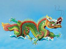 中国龙雕塑高清图片2