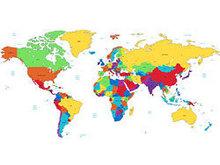 世界版图矢量图7