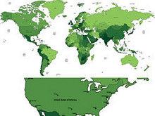 世界版图矢量图4