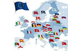 欧盟国家国旗矢量图