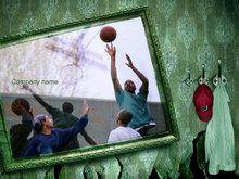 街头篮球PPT模板免费下载