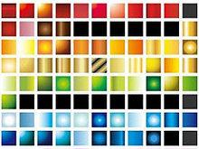 各种AI色彩模板矢量图