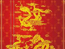 中国龙吉祥古典图案素材 矢量龙纹 AI素材
