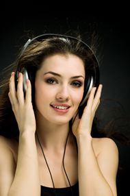 高清音乐美女图片