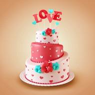 3D蛋糕模型图片