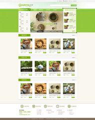 电商网站模板PSD素材