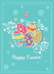 复活节彩蛋贺卡图片