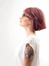 纹身美女人体艺术摄影