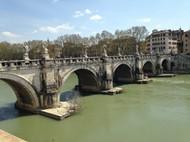 罗马圣天使桥图片