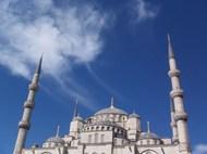 蓝色清真寺图片