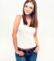 美女牛仔裤图片