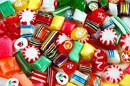 彩色巧克力糖图片