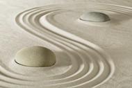 唯美沙子鹅卵石图片