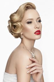 欧美新娘发型图片
