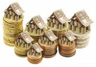 创意钱币房屋图片