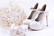 新娘鞋图片