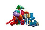 幼儿园滑滑梯图片