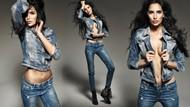 紧身性感牛仔裤美女图片