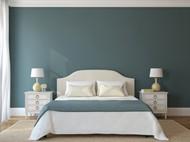 卧室双人床图片