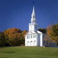 白色教堂图片