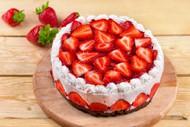 草莓奶油蛋糕图片
