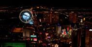 拉斯维加斯城市夜景图片