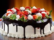 奶油草莓蛋糕图片