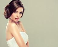 俏皮新娘发型图片