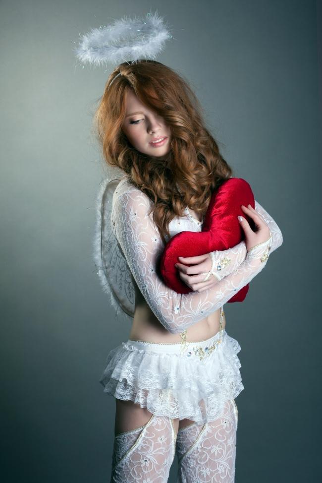 白色蕾丝丝袜美女图片